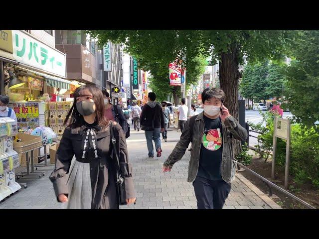 【東京都  4K】秋葉原の昼散歩