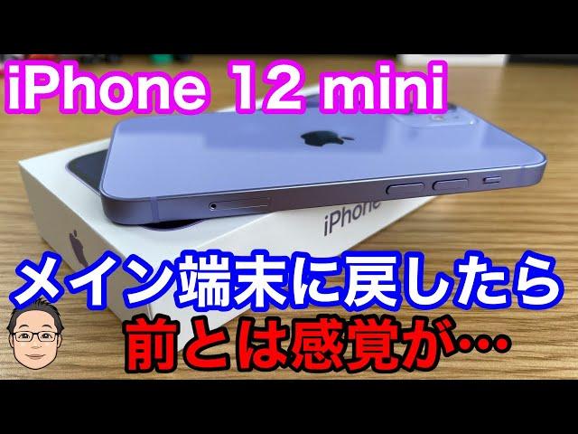 メイン端末をiPhone 12 miniにしたらどう感じた?【生産終了で見えてきたこと】