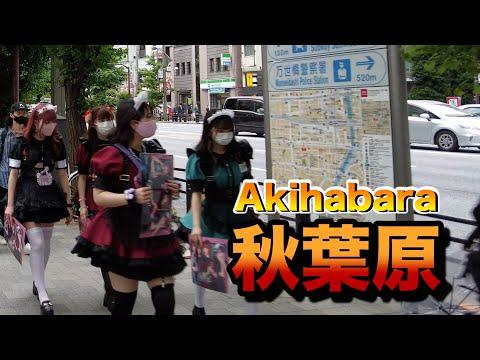 【4K】walk in Akihabara【秋葉原をお散歩】2021年6月5日